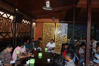 SBR Gelar Sosialisasi Empat Pilar Bersama Sejumlah Organisasi Mahasiswa di Maluku